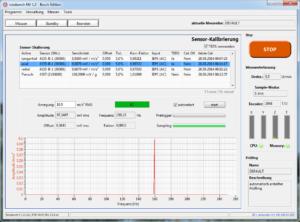 rotabench® NV: Sensor kalibrieren