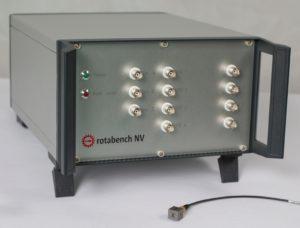 rotabench® NV: Front mit Sensor