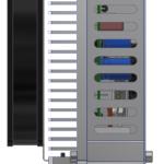 rotabench® 6P 120/30E Leistungs-Endstufe - Seitenansicht rechts